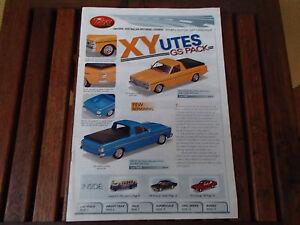 TRAX CATALOGUE 4T EDITION 2007 XY GS PACK UTES HR PREMIER SENSATIONAL