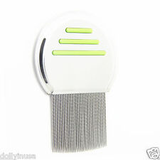 Head Lice Comb Nit Stainless Metal Teeth Terminate Free S&H Los piojos peine G