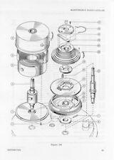 Hamilton Model 21 Marine Chronometer Mainspring NOS -- Real McCoy!