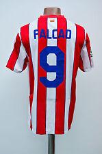 ATLETICO MADRID SPAIN 2011/2012 HOME FOOTBALL SHIRT CAMISETA NIKE FALCAO #9