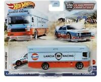 Hot Wheels Car Culture Team Transport Lancia 037 Euro Hauler Gulf