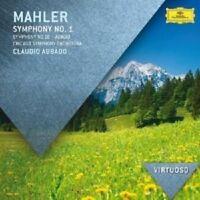 CLAUDIO ABBADO  MAHLER: SINFONIEN 1,10 (ADAGIO)  CD NEU