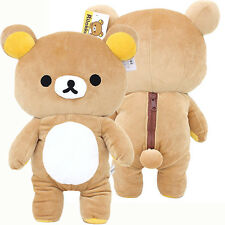 "Rilakkuma Plush Doll 22"" XL Microfiber Soft Stuffed Toy with Beans Licensed"