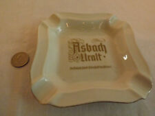 Vintage Heinrich Asbach Uralt Ash Tray from Germany