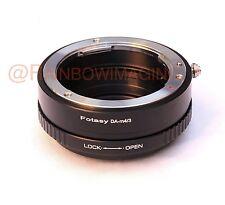 Pentax DA lens to Micro 4/3 adapter Aperture Control Panasonic GF6 GF7 GF5 GX2
