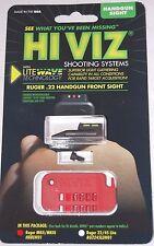HiViz Lightwave Front Sight Ruger Mark II, Mark III, Buckmark, Single 6 HRBLW01