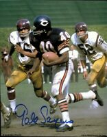 Gale Sayers Autographed Signed 8x10 Photo ( HOF Bears ) REPRINT