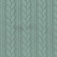 Cable Knit Jersey - Duck Egg Green 306 - Stretch Fabric Dressmaking Sweatshirt