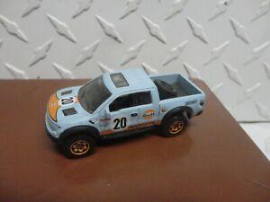 Loose Matchbox Blue Gulf 2010 Ford F-150 SVT Raptor