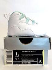 Brand New Nike Air Jordan Retro 10 (CB) Crib Ice Green White X 1c