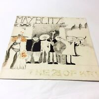 May Blitz 'The 2nd of May' Rare 1986 Stamp Records Vinyl LP EX+/EX+ Nice Copy!!