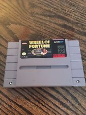Wheel Of Fortune Super Nintendo SNES Game Cart Works SN1