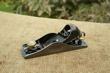 VINTAGE STANLEY No.15 BLOCK PLANE,WITH ADJUSTABLE THROAT,7'' LONG, MADE IN USA