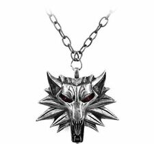 Witcher Wolf Head Pendant Necklace