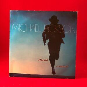 "MICHAEL JACKSON Smooth Criminal 1988 UK 7"" vinyl single EXCELLENT CONDITION 45"