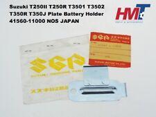 Suzuki T250II T250R T3501 T350R T350J Plate Battery Holder 41560-11000 NOS JAPAN
