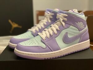 "Nike Air Jordan 1 Mid (554724-500) ""Pulse Purple"" Men's Size 8 and 8.5"