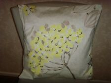 DESIGNERS GUILD KIMONO BLOSSOM PRINT cushion cover FITS 18in  BEIGE GOLD YELLOW