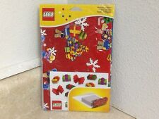 LEGO CHRISTMAS WRAPPING PAPER (SET OF 3) AND FREE SHIPPING 851407