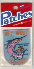 Key West Florida Souvenir Travel Patch Deep Sea Fishing