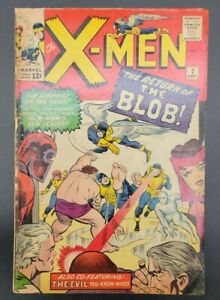 X-MEN #7 (1964)  - 1ST APPEARANCE OF CEREBRO 3.0? - Nice affordable Copy 🔥🔥