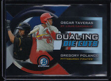 2014 BOWMAN CHROME DUAL-ING DIE-CUTS TAVERAS POLANCO #DDC-TP CARDINALS PIRATES