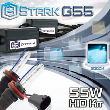 Stark 55W Micro HID Head Light Slim Xenon Kit - H11 8K 8000K Ice Blue (A)
