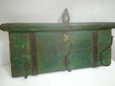 Old Vintage India Wooden Hand Carved Wall Fixing Home Decor  Hanger