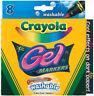Crayola Gel Washable Markers -Assorted Colors 8/Pkg, 58-8163
