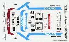 ALFA ROMEO 155 V6 TI N°12 DTM  SINGEM 1995 ALBORETO  DECALS 1/43