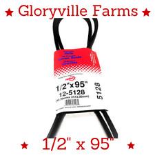 """Premium Belt 1/2""""x95"""" Fits Craftsman Husqvarna 4L950 144959 531 30 07-66 (5128)"""