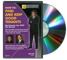 Rich Dad Poor Dad Series: How to Find and Keep Good Tenants Audio CD /1 Disc NEW