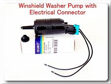 7610-113 Windshield Washer Pump & Connector For Buick Cadillac Chevrolet Pontiac