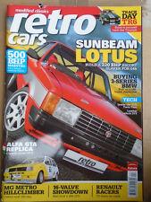 Retro Cars Apr 2006 Sunbeam Lotus, Alfa GTA replica, MKI Golf 16v vs 205 GTi 16v
