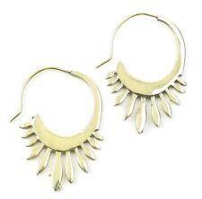 Kendari Earrings, Ethnic Earrings, Tribal Brass Earrings, Festival Earrings