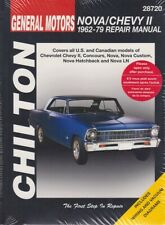 1968 Chevy II and Nova and SS BOUND Assembly Manual 68 Chevrolet Factory
