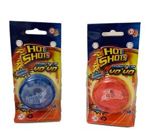 NEW Hot Shots Light Up Yo Yo Trick Mechanism yo yo Speed Auto Return-- uk seller