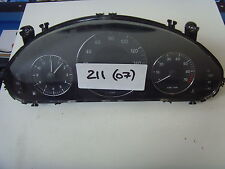 Mercedes Clase E W211 cuadro de instrumentos relojes A2115405848