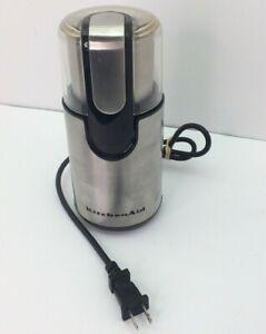 KitchenAid BCG111OB Blade Coffee Grinder  see description O&E028