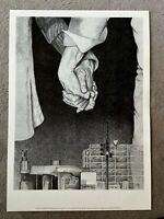 JÜRGEN WALLER - Kunstblatt/ Kunstdruck/ Offsetdruck - 1974