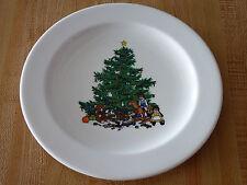 Unique Design Decorative Christmas Plate ! Tree Toys & Kids