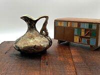 Beautiful Antique Satsuma Japanese  Porcelain Vase Richly Gilded & Decorated