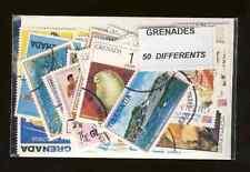 Grenade - Grenada 50 timbres différents