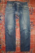 APC New Standard Selvedge Denim Faded Repaired - Tag Size 30 - See Measurements