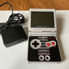 Genuine NES edition Nintendo Game Boy Advance GBA SP w/ official AGS-101 READ