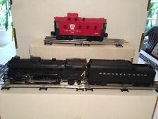 Lionel 8304 Diecast Locomotive w/ PPR Sound Tender & 6921 PPR Caboose