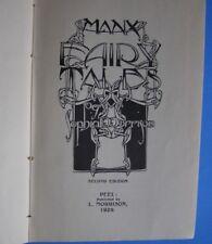 Sophia Morrison. Manx Fairy Tales (Peel, 1929). 2nd edition, first illustrated