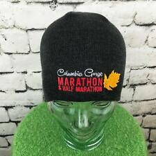 7ed7feaad8b19 Columbia Gorge Marathon Mens Hat Gray Stretch Knit Beanie Warm Winter Skull  Cap