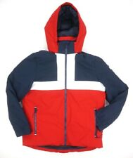 NEW $249 TOMMY HILFIGER RED NAVY DOWNHILL WARM HOODED SKI...