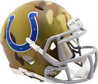 Riddell Indianapolis Colts Camo Alternate Revolution Speed Mini Football Helmet